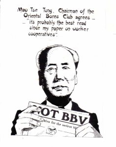 Not BB cartoon of Chairman Mao copy